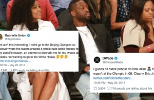 Gabrielle Union and Dwyane Wade Miami Heat