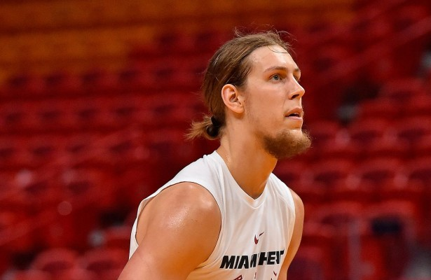 Kelly Olynyk Miami Heat Practice