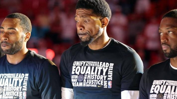 Udonis Haslem Miami Heat Pregame