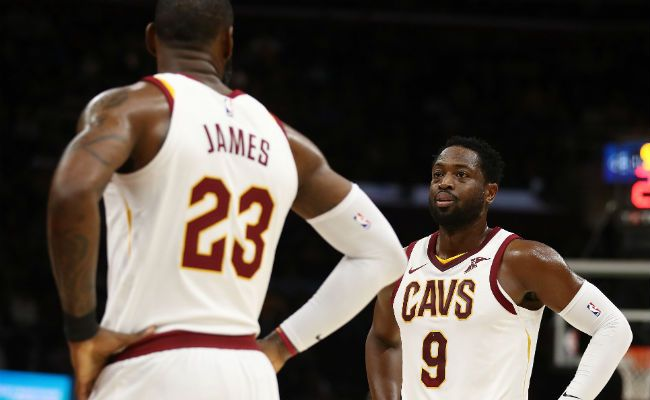d0d0dc79a770 LeBron James Says He Wishes Cavs Had Dwyane Wade in NBA Finals vs. Warriors