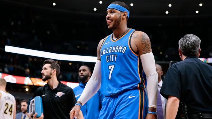 Carmelo Anthony Thunder