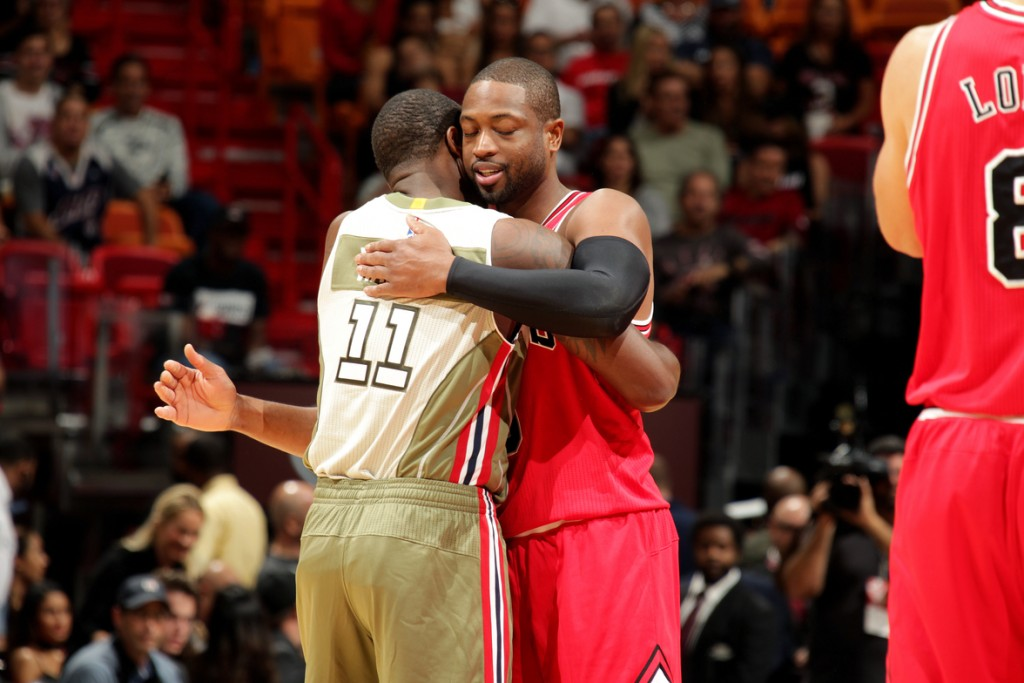 Dwyane Wade and Dion Waiters