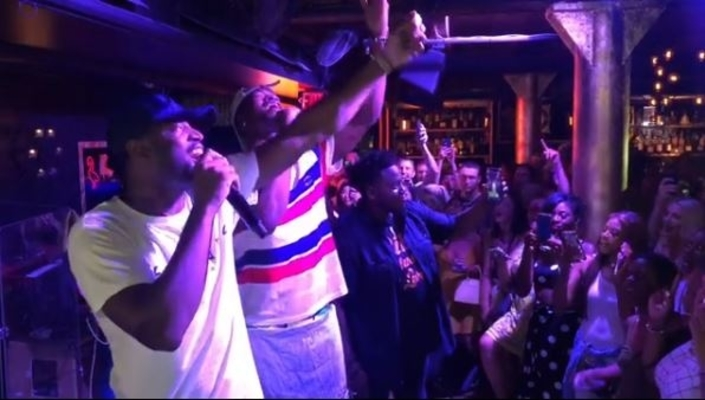 Dwyane Wade and Jimmy Butler Karaoke