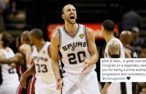 Manu Ginobili Spurs