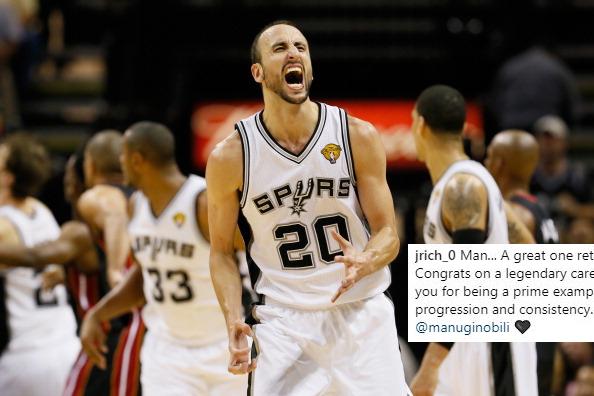 Manu Ginobili: San Antonio Spurs guard retires after 23-year career