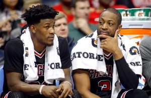 Jimmy Butler Miami Heat Dwyane Wade