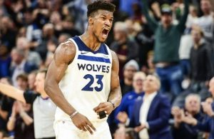 Jimmy Butler Wolves Miami Heat