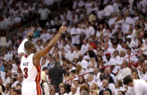 Dwyane Wade Miami Heat Crowd