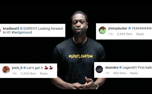 Dwyane Wade Epic Announcement