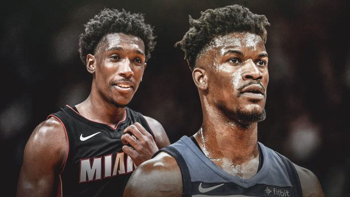 Josh Richardson and Jimmy Butler