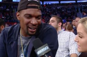 Chris Bosh Interview