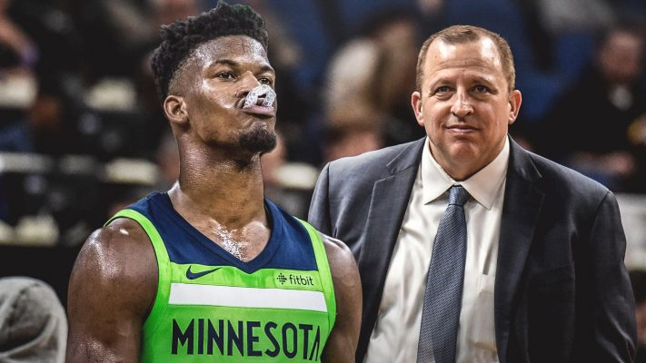 Jimmy Butler and Tom Thibodeau