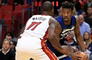Jimmy Butler Dion Waiters Miami Heat