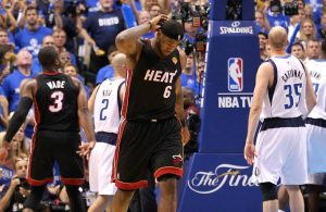 LeBron James 2011 Finals