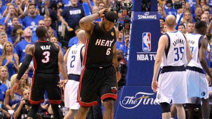 LeBron James 2011 Finals