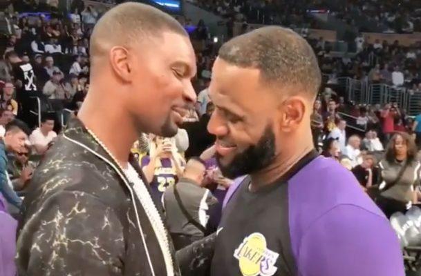 Chris Bosh and LeBron James Lakers