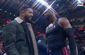 Drake and Dwyane Wade