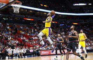 LeBron James Lakers Heat
