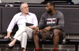 Pat Riley Had '2 or 3 Days of Tremendous Anger' When LeBron Left Miami Heat