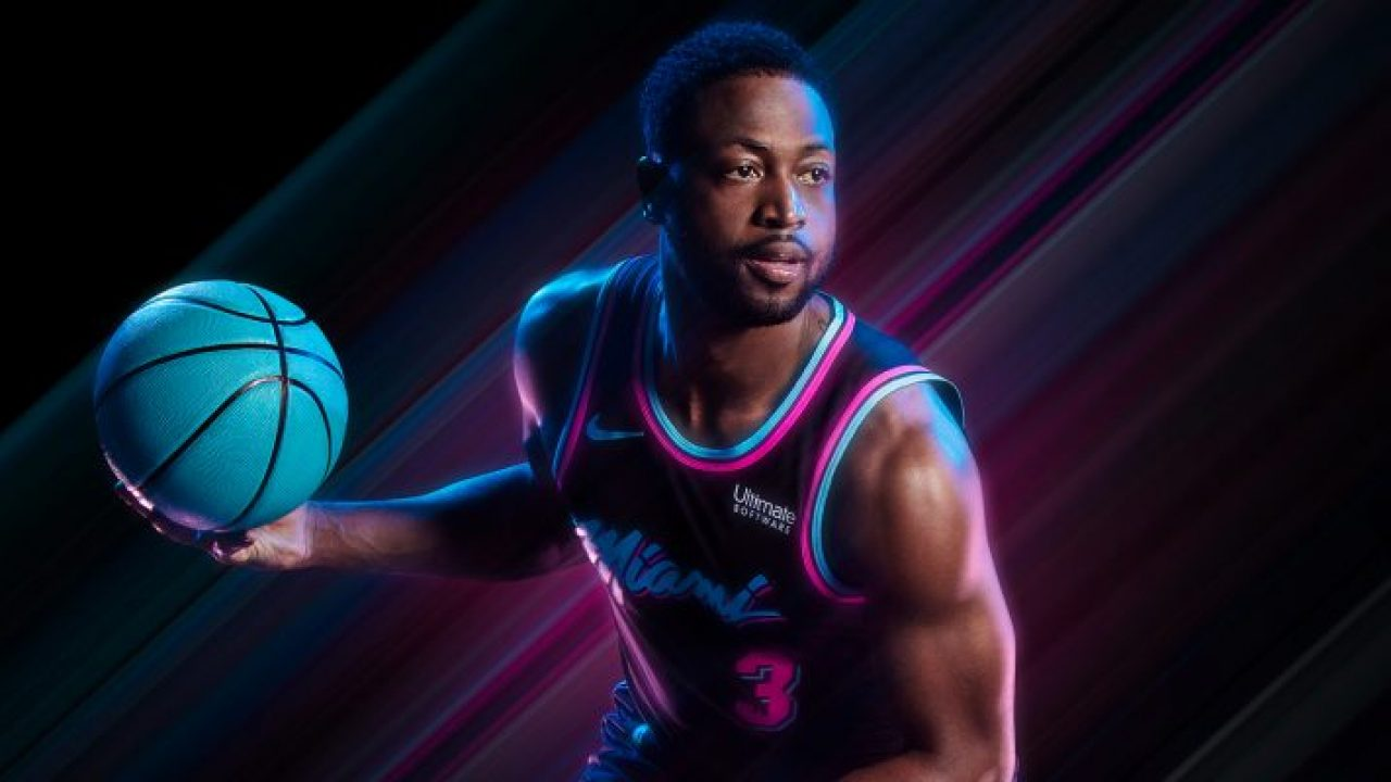best service 13fea 2f608 Dwyane Wade Gives His Opinion on New Miami Heat 'Vice Nights ...