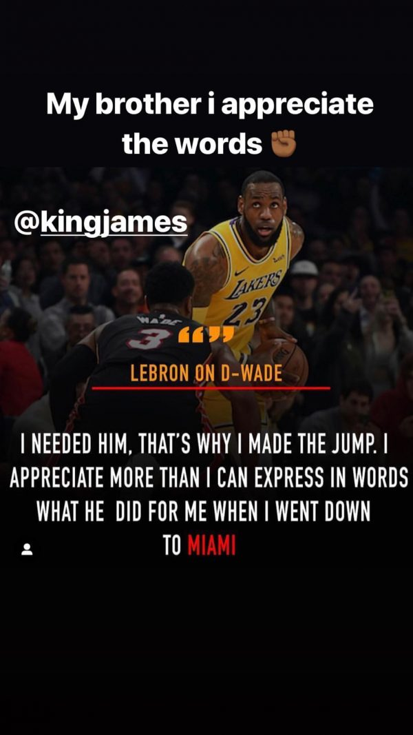Dwyane Wade LeBron James