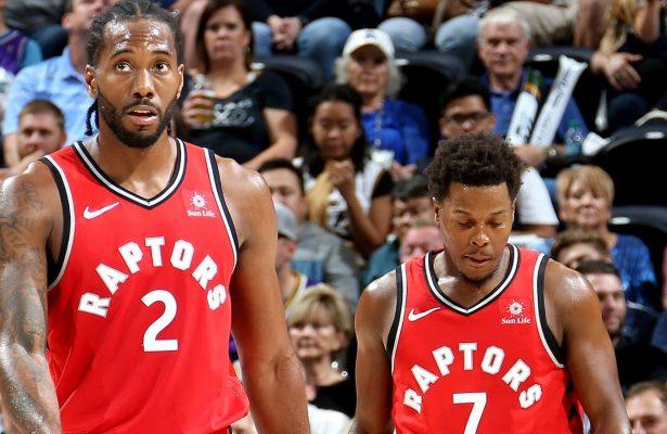 Kawhi Leonard and Kyle Lowry Toronto Raptors