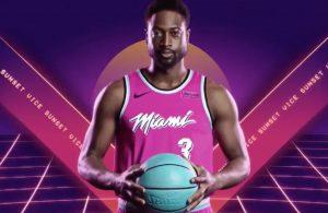 Miami Heat Sunset Vice Jerseys