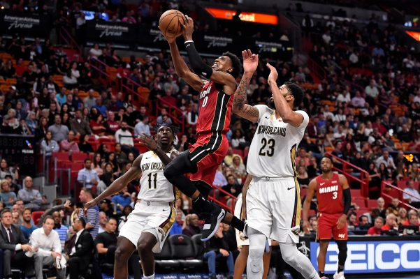 Josh Richardson Anthony Davis Miami Heat