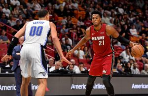 Hassan Whiteside Miami Heat vs. Orlando Magic