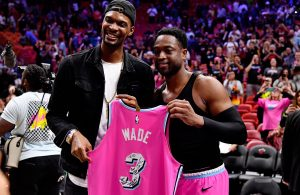 Chris Bosh and Dwyane Wade