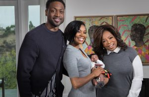 Dwyane Wade, Gabrielle Union, and Oprah