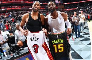 Vince Carter and Dwyane Wade