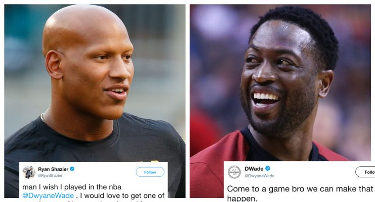 Ryan Shazier and Dwyane Wade