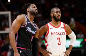 Dwyane Wade and Chris Paul Rockets