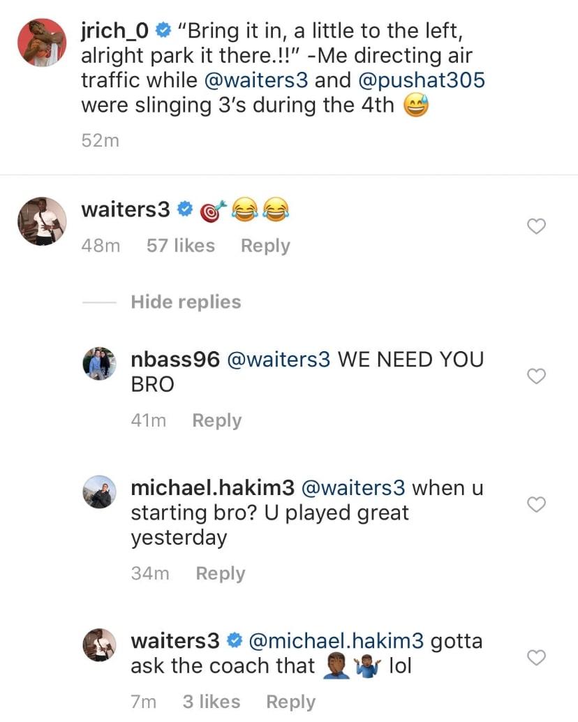 Dion Waiters Instagram