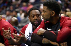 Dwyane Wade and Udonis Haslem Miami Heat