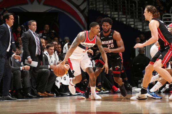Bradley Beal Wizards Miami Heat