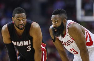 Dwyane Wade and James Harden