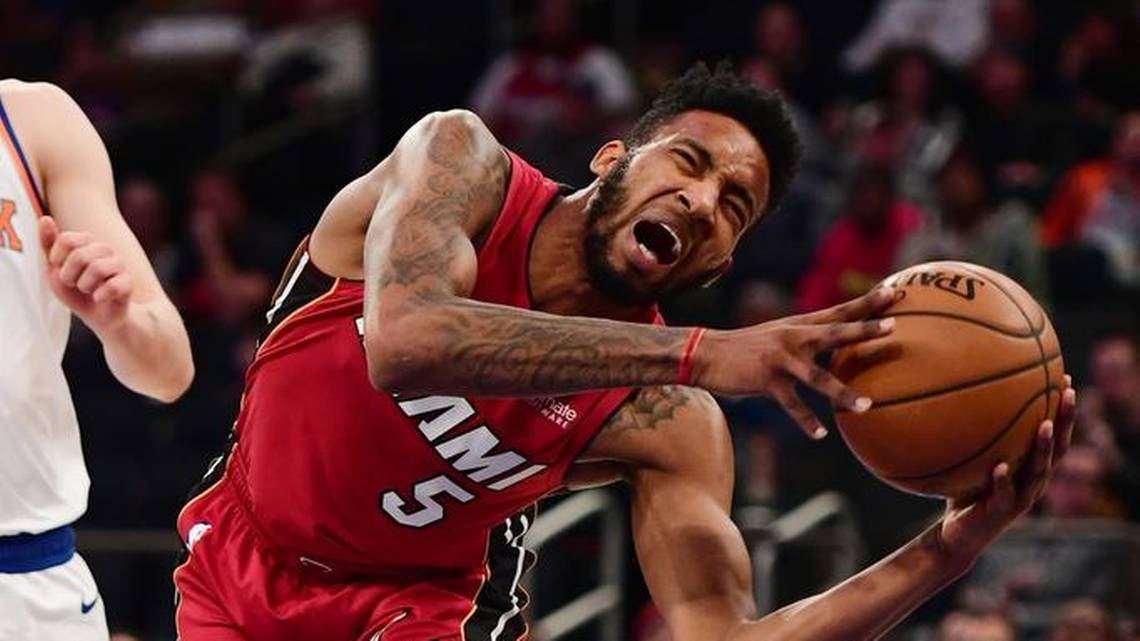 Derrick Jones Jr. Miami Heat Injury