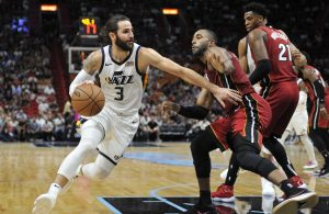 Ricky Rubio Miami Heat Utah Jazz