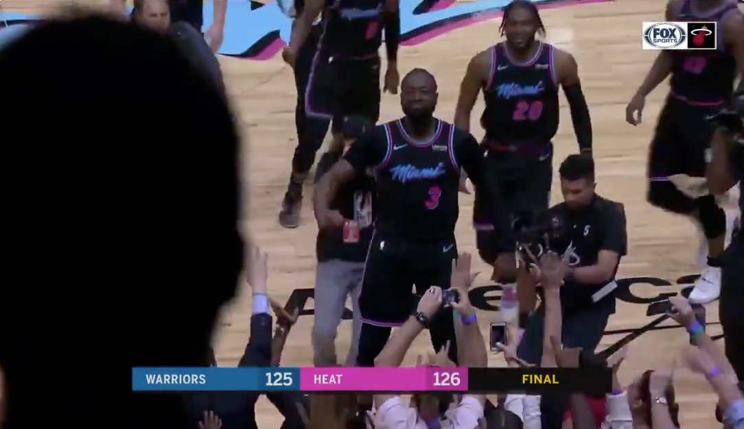 Dwyane Wade Game-Winner Warriors