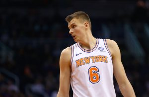 Kristaps Porzingis New York Knicks