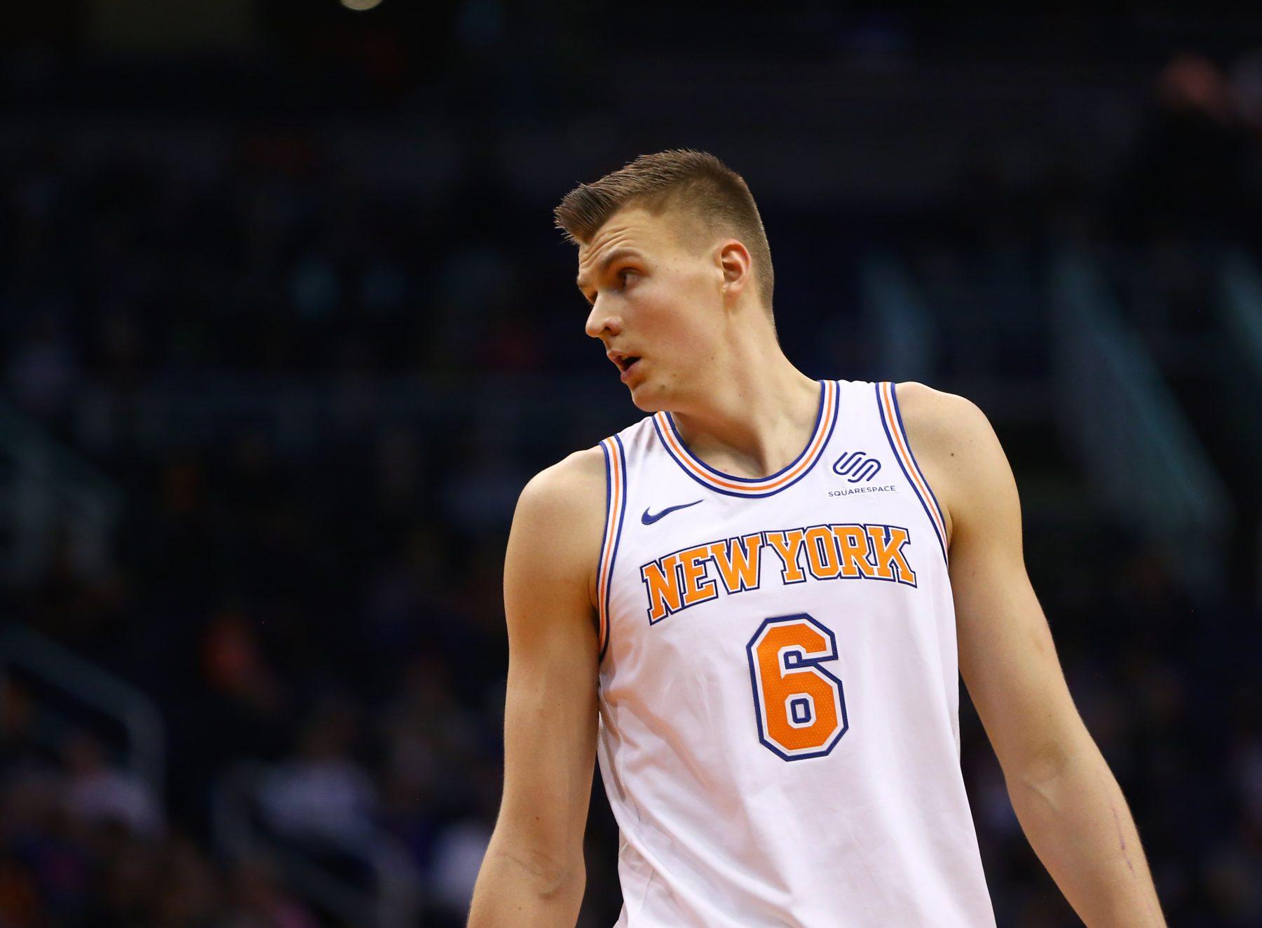 Kristaps Porzingis New York Knicks