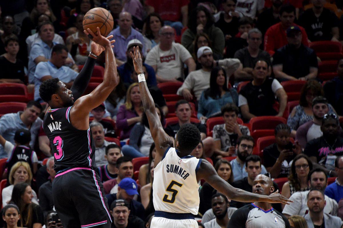 Dwyane Wade Miami Heat Utah Jazz