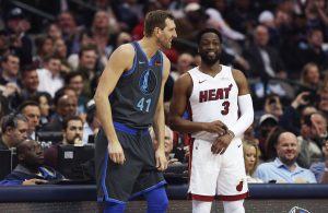 Dirk Nowitzki and Dwyane Wade