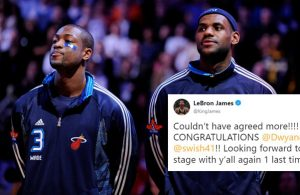 LeBron James and Dwyane Wade All-Star Game
