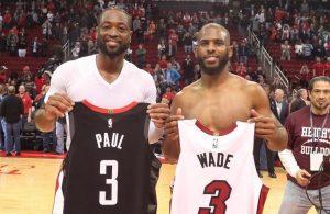 Dwyane Wade and Chris Paul