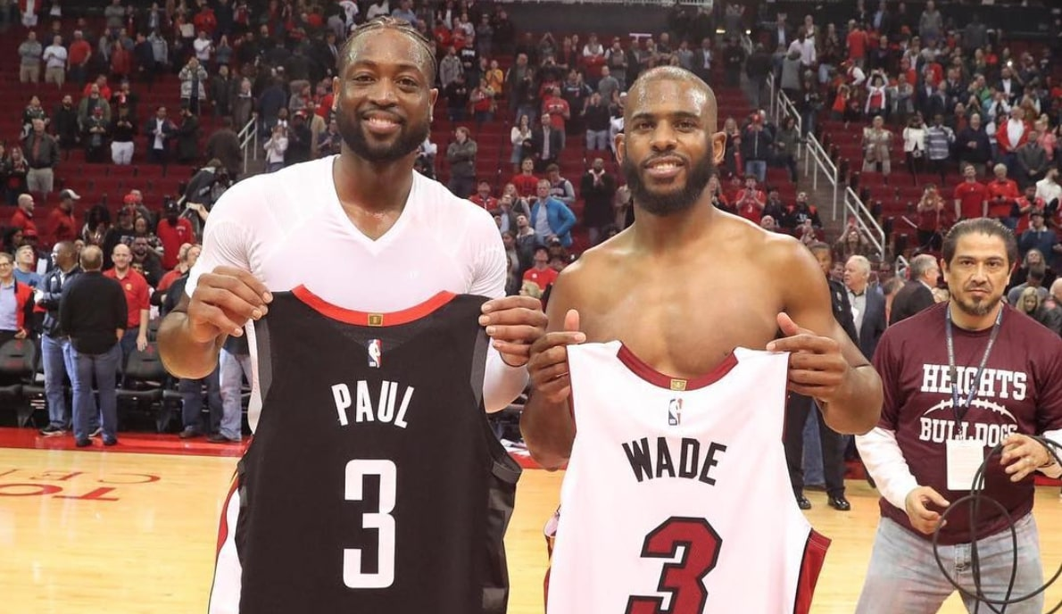 Dwyane Wade and Chris Paul