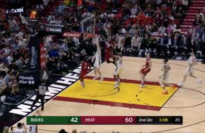 Justise Winslow and Dwyane Wade alley-oop