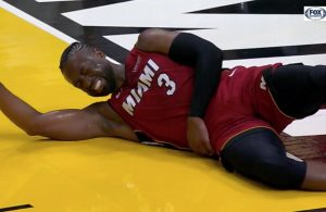 Dwyane Wade Hip Injury Miami Heat